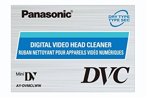 Panasonic AY-DVMCLWW Mini Digital Video Head Cleaner