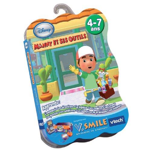 VTech – Kartusche für Spiel V.Smile Manny und Seine Werkzeuge – 90025
