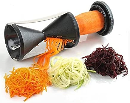 Swastik Vegetable Spiral cutter Shredder Tool Slicer Peeler salad decorator noodles