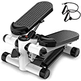 NANDY PERSONAL CARE Mini Stepper Fitness -Aerobica Glutei Gambe Cosce Home Gym Portabile Salvaspazio Allenamento in Casa Palestra
