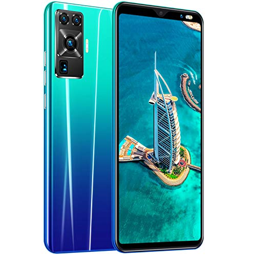 CYJ 4G Smartphone, 5.8 Zoll 18:9 Wassertropfensieb Bildschirm, 16MP+8MP Kamera, 8GB RAM +128 GB ROM Speicher, Face/Fingerprint ID, 4G Dual SIM Outdoor Handy