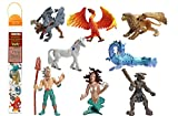 Safari Ltd. Super TOOBS Collection - Mythical Realms TOOB - 8 Piece Set - Non-toxic and BPA Free - Ages 3+