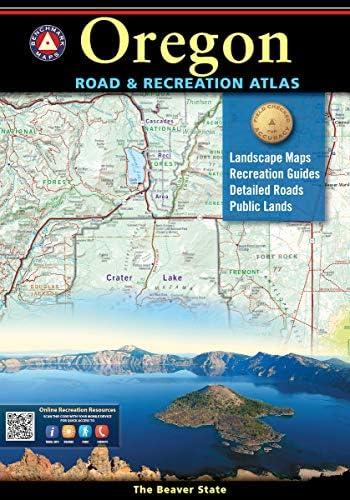 Oregon Road Recreation Atlas Benchmark Recreation Atlases product image