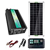 TZUTOGETHER Monocrystalline Solar Panel Kit 20W | AC 1000W 220V...