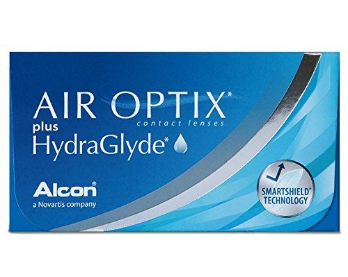 Air Optix HydraGlyde Monatslinsen weich, 3 Stück / BC 8.6mm / DIA 14.2 / -2.25 Dioptrien