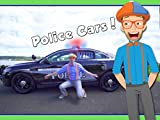 Police Cars for Children with Blippi - Educational Videos for Kids