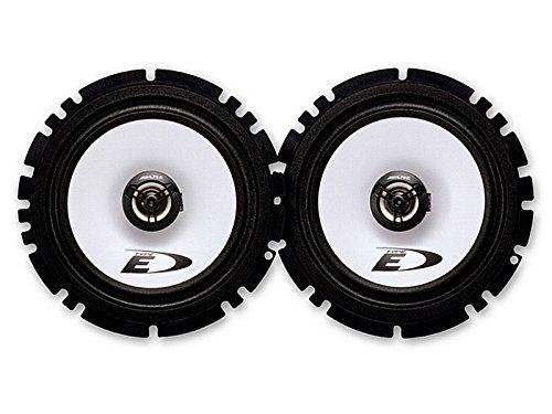 Alpine Auto Lautsprecher 2 Wege Koax 180 Watt passend für Audi A3 (8L) 96-06/03 Einbauort vorne : - / hinten : Seitenwand Rücksitz