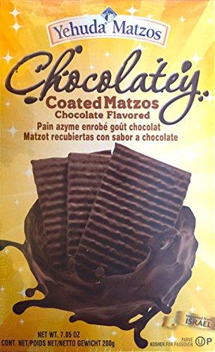 Yehuda Matzot Matzos Chocolatey beschichtet Schokolade, koscher jüdische Speisen (Rein für Passahfest), 200g
