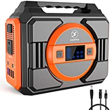 300W Portable Power Station,FLYLINKTECH 75000mAh 277.5Wh Solar Generator for Home Use CPAP Outdoor Camping, Emergency Backup Lithium Battery Power Supply with 2 AC Outlets 2 DC 4 USB Ports