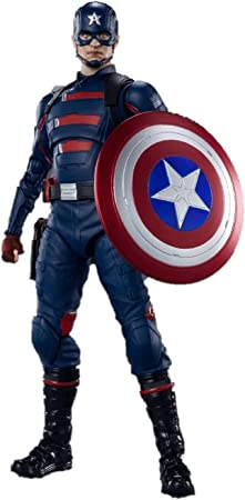Tamashi Nations - Marvel: Falcon and The Winter Soldier - Captain America (John F. Walker ), Bandai Spirits S.H.Figuarts