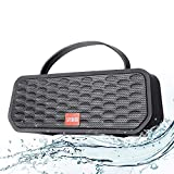 Bluetooth Speaker, Portable Speaker, 20W Wireless Speaker, 30H Playtime, IPX6 Waterproof with USB TF Intput & FM Radio for Home, Outdoors, Travel