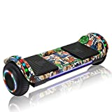 CHO POWER SPORTS Hoverboard Hover Board Electric Scooter Two-Wheel Smart Self Balancing Wheels with Built in Speaker LED Lights (Image 5)