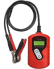 メルテック バッテリー診断機(LEDデジタル表示) DC12V 診断内容:CCA値・CA値・mΩ バッテリー状態&充電容量表示 Meltec ML-100