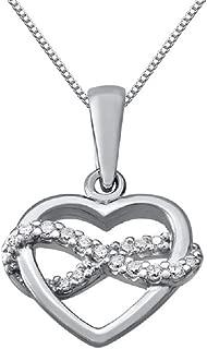 Best cubic zirconia necklace heart Reviews