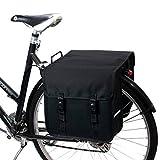 BikyBag Beluko Classic - Sacoche Double pour vélo (Noir)