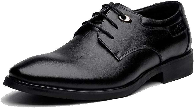 Jiang-ZX Men's shoes,Breathable Men's Business shoes