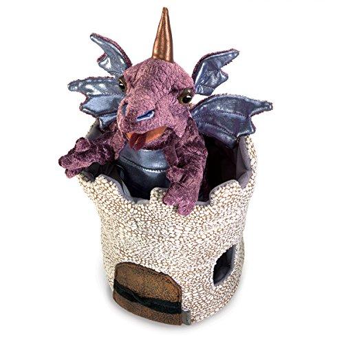 Folkmanis Marionnette Dragon en Tourelle