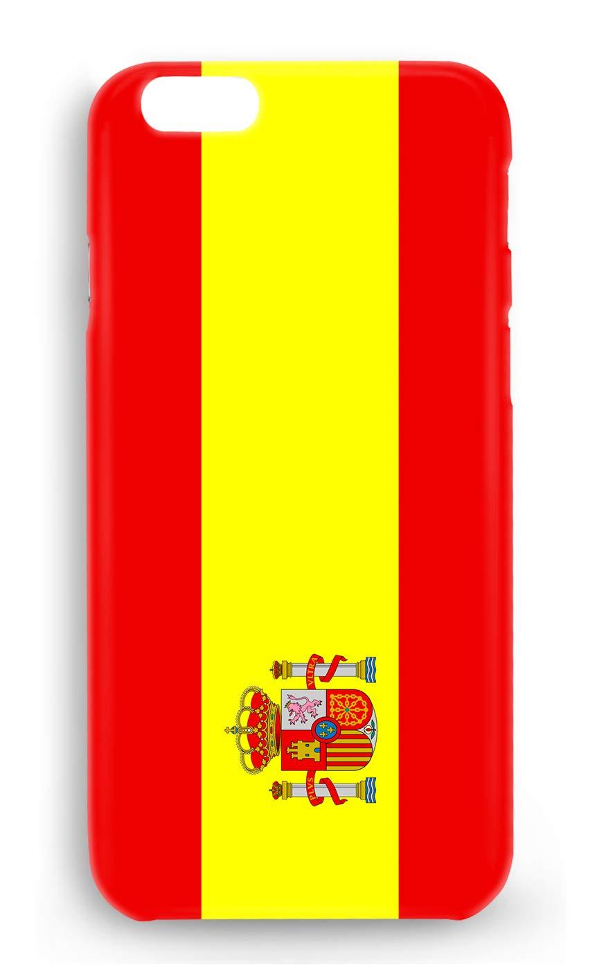 Funda Carcasa Bandera España para iPhone 7 Plus 7PLUS plástico rígido: Amazon.es: Electrónica