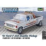 アメリカレベル 1/24 '91 フォード F-350 デュアリイ プラモデル