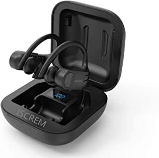 Sponsored Ad - True Wireless Earbuds Bluetooth 5.0 TWS Stereo Headphones in Ear Built in Mic Headset 24 Hrs Total Playback... photo