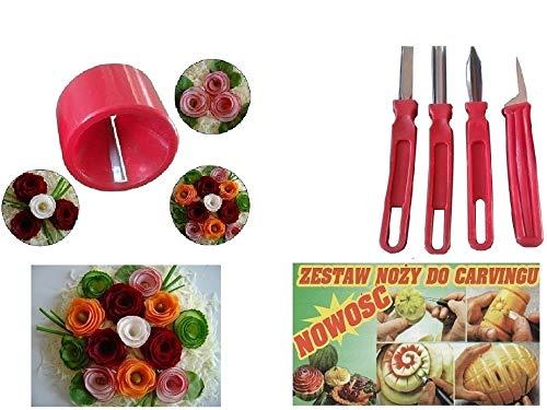 Fruit carving tools & Vegetable Sharpener