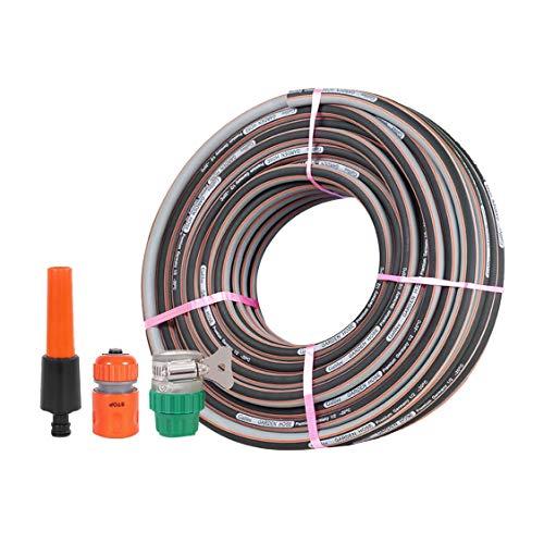 Hs&sure Tubería de Agua de jardín de 1/2 Pulgada (12.5mm), Manguera doméstica de PVC, Anti-congelación/Resistente a Prueba de explosiones Tubo de Lavado de Autos (Size : 40M)