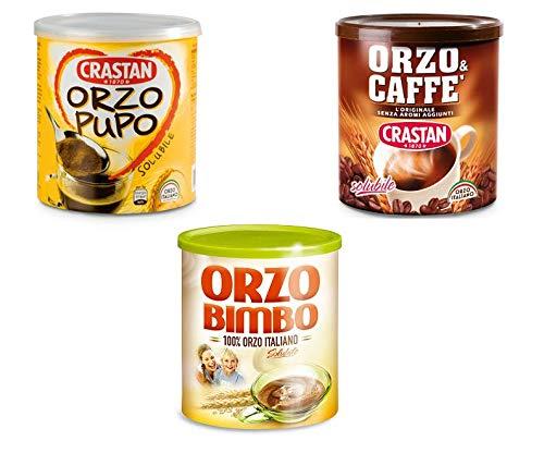 TESTPAKET Orzo Bimbo-Pupo-Caffè Instant lösliche Gerste Getreidekaffee Kaffee