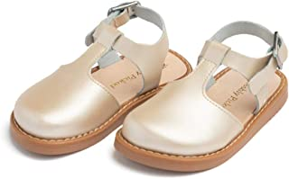 Newport Clog - Baby Toddler Little Girl Leather Sandals - Toddler/Little Kid Sizes 3-13 - Multiple Colors
