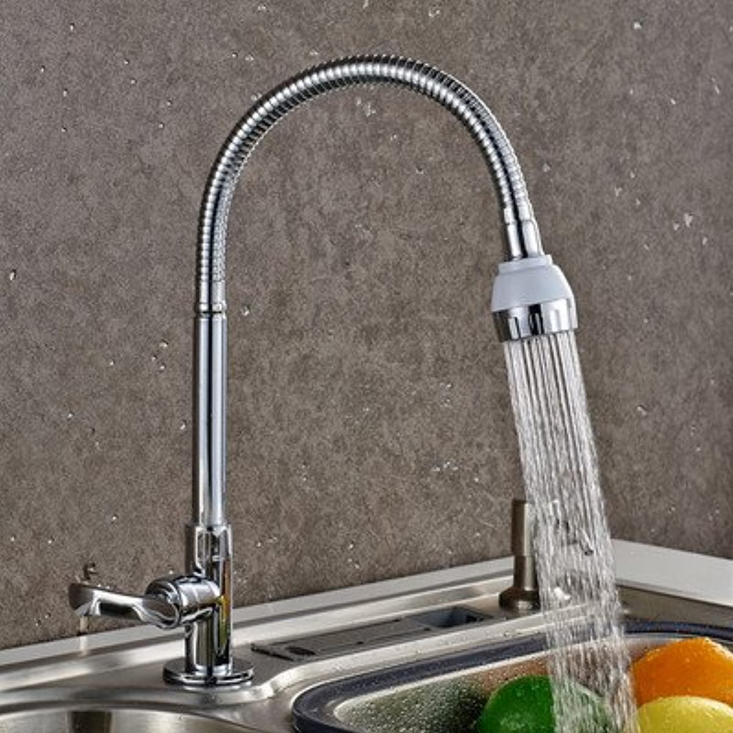 SUhang Kitchen Sink Taps A single copper kitchen sink faucet sink into the wall type water tap