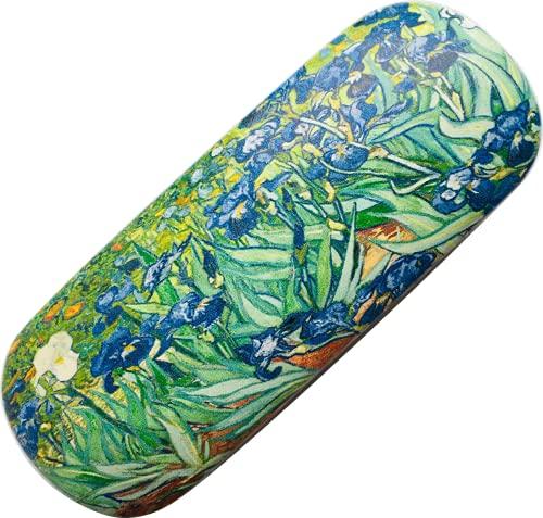 Caja de gafas Paris Tour Eiffel – diseño de Los Iris de Van Gogh, pintor francés, talla clásica