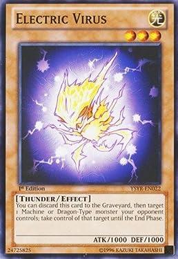 Yu-Gi-Oh! - Electric Virus (YSYR-EN022) - Starter Deck: Yugi Reloaded - 1st Edition - Common