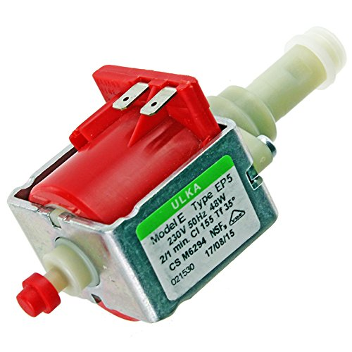 Spares2go EP5-Wasserpumpe für Kaffeemaschine DeLonghi Magnifica, 48W
