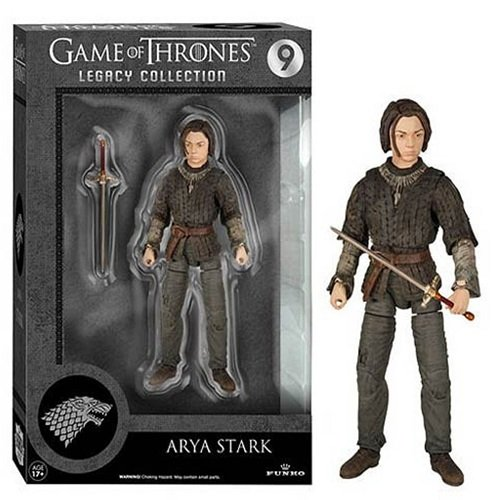 Funko 4108 Game of Thrones Toy - Arya 6 Inch Collectable Action Figure - House Stark