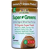 Country Farms Super Green Drink Mix, Delicious Chocolate Flavor, 10.6 Ounces Each (Value Pack of 8)
