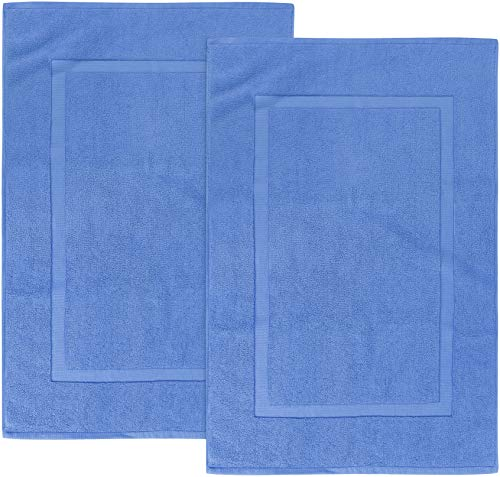 Utopia Towels - 2 Tappeti da bagno in cotone, (53 x 86...