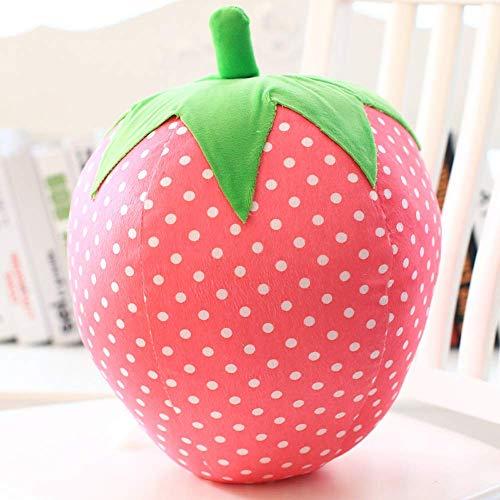 IPOLK Creative Plush Toy Simulation Strawberry Pillow Cute Fruit Cushion Soft Toys Rag Doll Gift 1