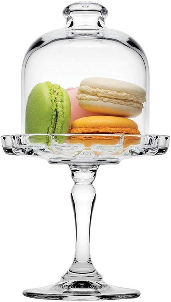 Cake stand set quality assurance Max 89% OFF European Transparent Holder Snack Glass Tray