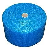 REALPACK 1 x rollo – Azul fuerte burbujas Tamaño de la venda: ancho 12'300 mm x 50 m Envío rápido al día siguiente entrega Reino Unido