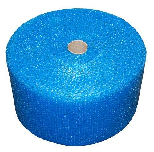 Luftpolsterfolie Realpack, 1 Rolle, blau, robust, Größe: Breite 300mm x 50m.