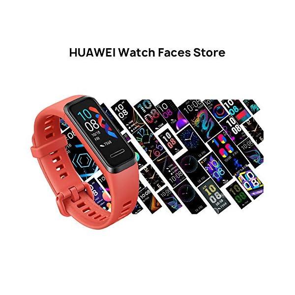 HUAWEI Band 4- Pulsera de actividad con pantalla a color TFT de 0.96 pulgadas, monitorización continua con HUAWEI… 2