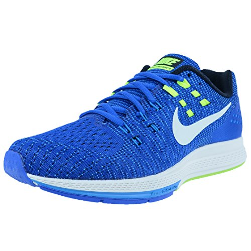 Nike Herren Air Zoom Structure 19 Laufschuhe, Azul/Blanco/Lima (Racer Blue/Sail-Photo Blue-VLT), 42 EU