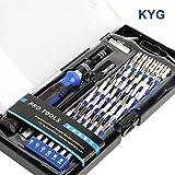 KYG 60 en 1 Destornilladores precisión S2 - Kit de herramientas...