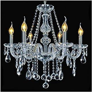 Lámparas de cristal, Dst María Teresa 6 armas cristalina de cristal de la lámpara pendiente de la lámpara, diámetro 60 cm, altura 60 cm, 60 cm Cadena