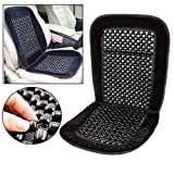Luebel BEADED CAR SEAT COVER MASSAGING RELAX UNIVERSAL TAXI VAN FRONT CHAIR CUSHION NEW