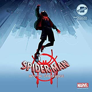 Spider-Man: Into the Spider-Verse audiobook cover art