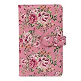Wogozan 3 inch Film Photo Album 96 Pockets for Fujifilm Instax Mini 7s 11 8 9 25 26 50s 70 90 liplay Link Instant Camera Accessories /Name Card/Bank card/3inch Game Card (Rose Pink)