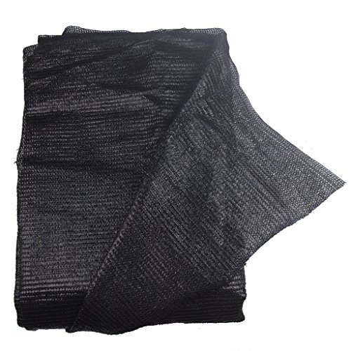 40% 10ft x6.5ft Black Sun Net Sun Mesh Shade Sunblock Shade Cloth UV Resistant Net for Garden Flower Plant for Greenhouse
