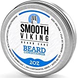 Smooth Viking Beard Conditioner for Men, Leave-in Wax...