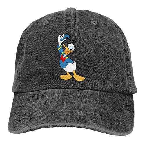 TBLHM Donald_Duck Leichte schnell trocknende atmungsaktive Baseballkappe Outdoor Run Cap Fashion Tide Cap Lässige Sonnenhut Verstellbare Klassische Sportmütze