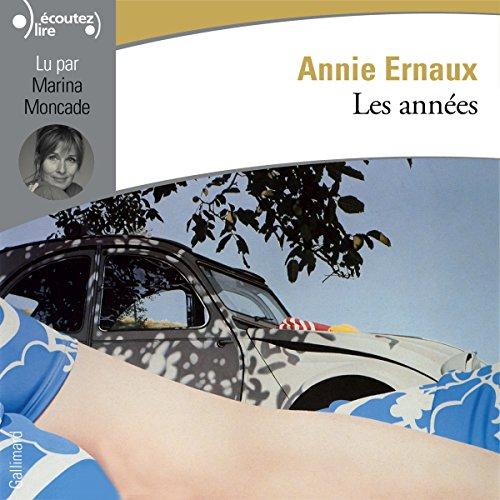 Les années audiobook cover art